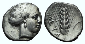 Southern Lucania, Metapontion, c. 400-340 ...