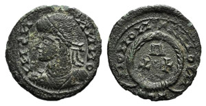 Barbarous Æ, imitating a Roman Follis, c. ...