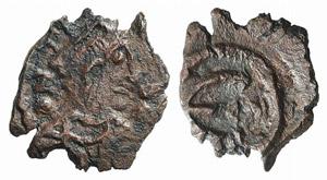 Justin I (518-527). Æ 5 Nummi (14mm, 1.05g, ...