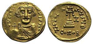 Constans II (641-668). AV Solidus (19mm, ...