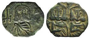 Constantine V (741-775). Æ 40 Nummi (19mm, ...