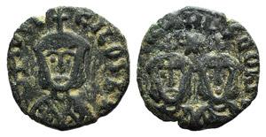 Theophilus (829-842). Æ 40 Nummi (16mm, ...
