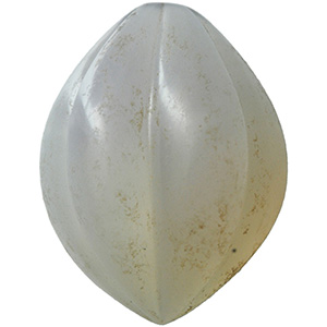 Chalcedony fruit-shaped gem 1st - 2nd ...