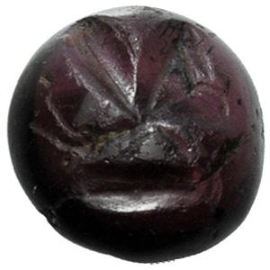Amethyst with shell Intaglio 3rd century AD; ...