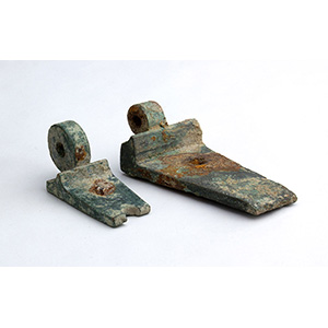 Two bronze hinges 2nd century BC - 1st ...
