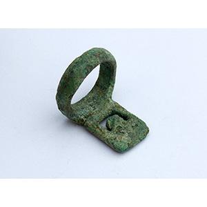 Roman bronze key 1st - 2nd century AD; ;