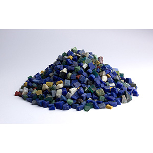 Group of glass tesserae tile 1st - 3rd ...