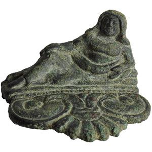 Etruscan bronze applique  5th - 4th century ...