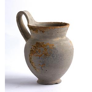 Brocca con ingobbio grigio I secolo a.C. - I ...