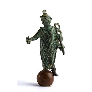 Roman bronze statuette of Mercury 1st - 2nd ...