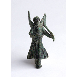 Bronze statuette of winged Nike 1st - 2nd ...