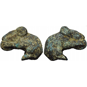 Roman bronze figure of a mouse 2nd - 3rd ...