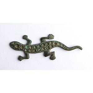 Bronze lizard applique  16th - 17th century ...