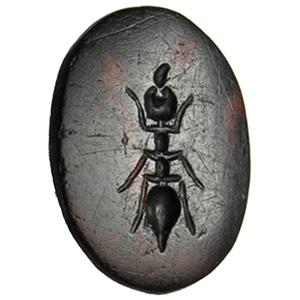 Jasper with ant Intaglio 1st century AD; ;