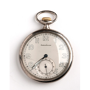 JAGER LE COULTRE pocket watch, 1930-1940; ; ...