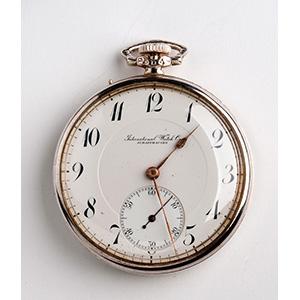 IWC SHAFFHAUSEN pocket watch,  1920 circa; ; ...