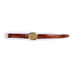 An 18K yellow gold Wristwatch, by VACHERON & ...