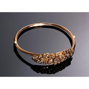 Antique 14K Gold Bracelet (580‰) set with ...