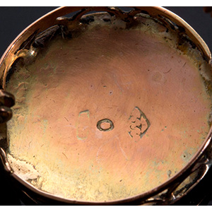 "Antique 9K gold ""Monachina"" ..."