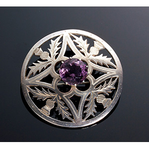 Antique Sterling Silver (925‰) Scottish ...