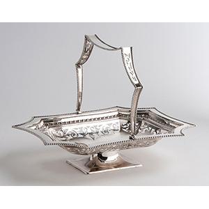 Fine Sterling Silver (925‰) Basket J. B., ...