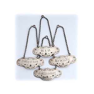 A rare set of 4 Sterling Silver (925‰) ...