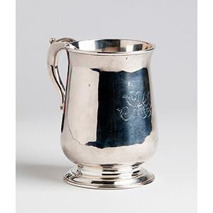 Fine baluster Sterling Silver (925‰) Mug, ...