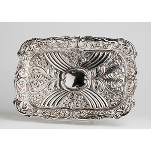 Nice Sterling Silver (925‰) Dressing Tray, ...