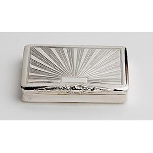 Interessante Tabacchiera in argento - ...