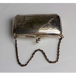 Porta monete  Vittoriano in Silver Plated ...