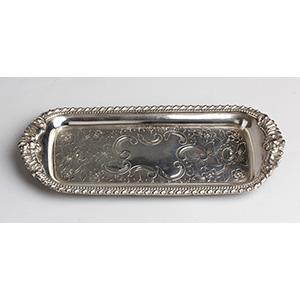 Georgian Old Sheffield Plate Snuffer tray - ...