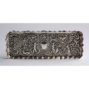 Vassoietto Edoardiano in argento 925/1000 - ...