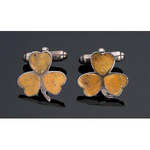 Sterling silver (925‰) Vintage enamel ...