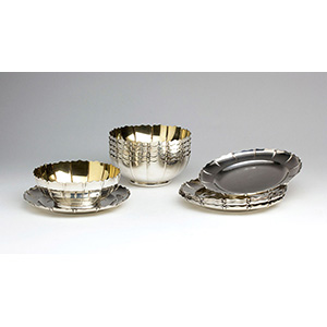 A set of six Sterling Silver 925 ‰ ...