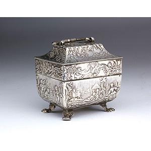 A miniature Dutch  Solid Silver 934 ‰ ...