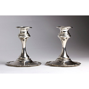 Antique pair of Sterling Silver 925% ...
