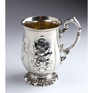 Sterlig Silver argento 925% Victorian Mug ...