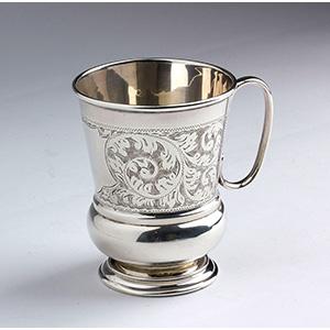 Sterling Silver 925% Victorian Mug - Martin ...