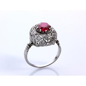 Mario Buccellati - charming ruby, diamond ...