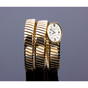 BULGARI, 18k Yellow, white and pink gold ...