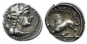 Gaul, Massalia, c. 130-121 BC. AR Drachm ...