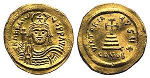 Heraclius (610-613). AV Solidus (22mm, ...
