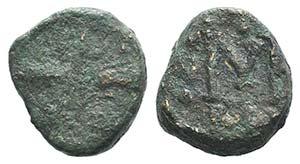 Constantine V (741-775). Æ 40 Nummi (12mm, ...
