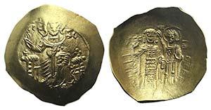 John II (1118-1143). AV Aspron Trachy (27mm, ...
