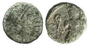 Vandals, c. 5th- 6th century. Æ (8mm, ...