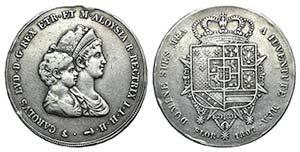 Italy, Firenze. Carlo Ludovico I di Borbone ...