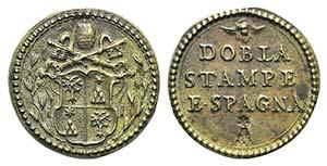 Papal, Alessandro VII (1655-1667). Æ Coin ...