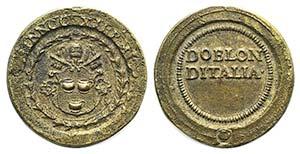 Papal, Innocenzo XII (1691-1700). Æ Coin ...