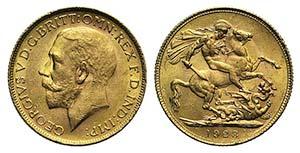 Great Britain, George V (1910-1936). AV ...