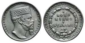 Italy, Vittorio Emanuele II (1878-1900). ...